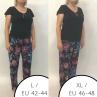 Babella Ingrid Pyjama Set Black Floral-thumb 2 piece pyjama set S/34-36 - 2XL/50-52