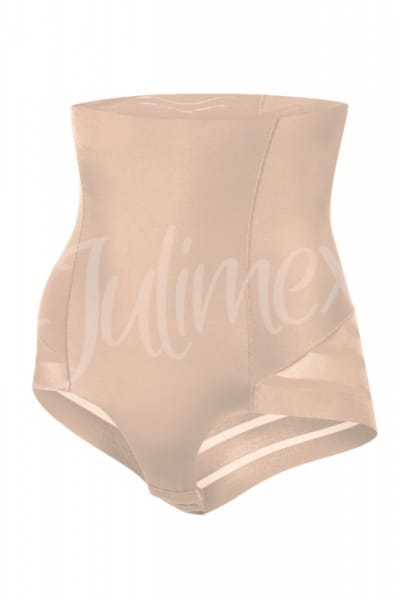 Shape & Chic Mesh High Waist Panty Beige