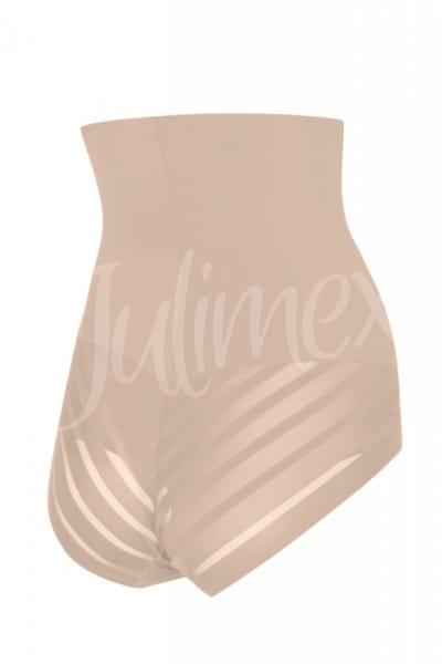 Julimex Shape & Chic Mesh High Waist Panty Beige High waist shaper panty S-2XL Mesh-141-BEZ