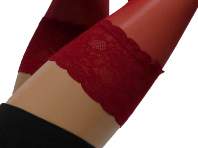 Paris Hold-Up Stocking 202 Red Orchid 20 den