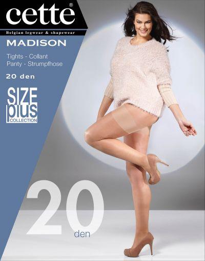 Cette Madison Plus Size Pantyhose Tendresse 20 den  XL-4XL 788-10-645