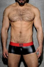 Fetish Rub boxer black and red