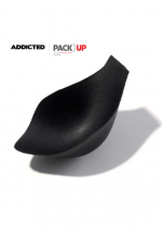 Pack Up padding for Addicted Underwear and Swimwear, Black