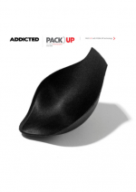 Pack Up with Push Up padding for Addicted Underwear, Black