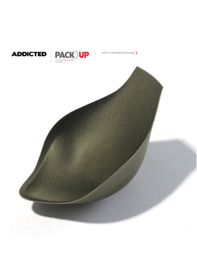 Addicted Pack Up with Push Up padding for Addicted Underwear, Khaki  100% Polyester S-2XL AC005