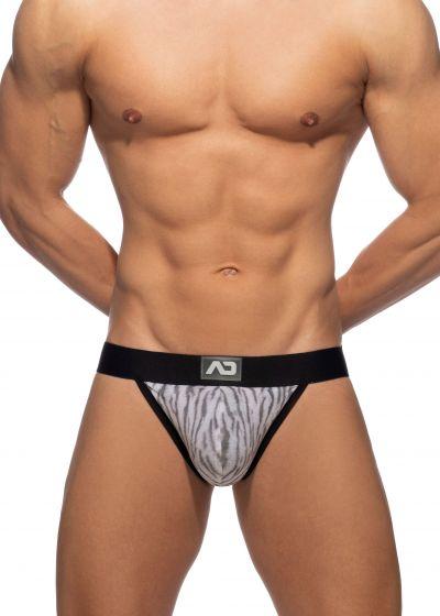 Addicted Tiger print bikini brief grey Bikini brief 80% Polyamide, 10% Viskose, 10% Elastane S-3XL AD974