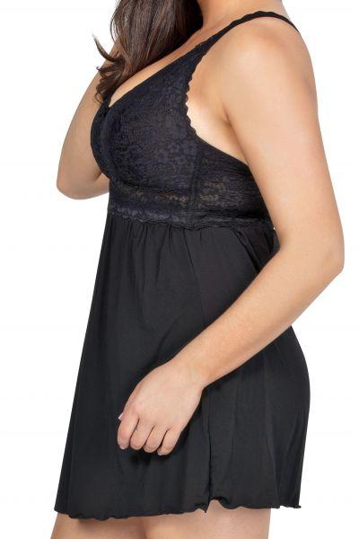 Adriana Babydoll Black