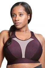 Aerocool Wirefree Sports Bra Blackberry