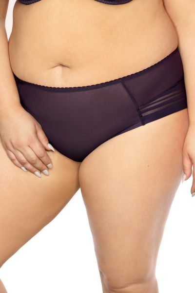 Gaia Lingerie Amanda Briefs Purple Midi brief with normal waist M/38 - 4XL/48 GFM-882-FIO
