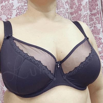 Amanda Semi Soft Bra Purple