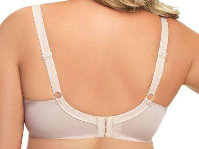 Gorsenia Amy Soft Nursing Bra Beige Underwired, non-padded bra 70-100, D-M MK15-BEZ