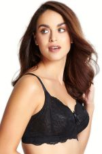 Andorra Non Wired Full Cup Bra Black