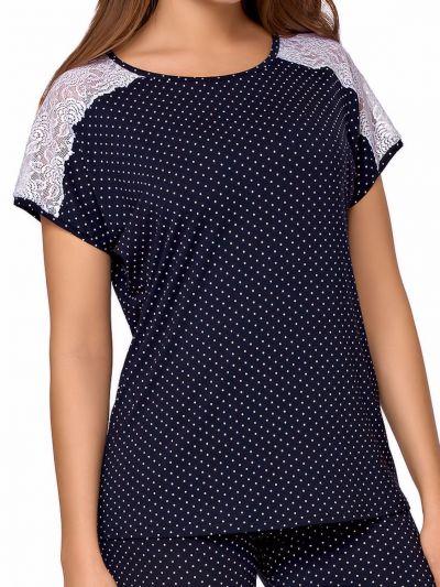 Anna Pyjama Set Navy