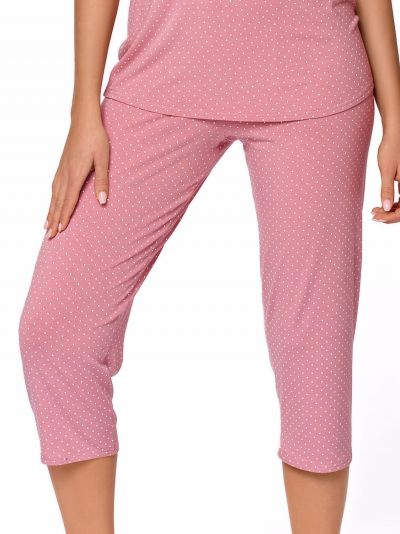 Babella Anna Pyjama Set Rose 2 piece pyjama set S/34-36 - 2XL/50-52 ROZ