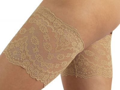 Calzitaly Floral Lace Anti-Friction Thigh Bands Tendresse
