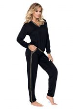 Argo Pyjama Set Black Gold