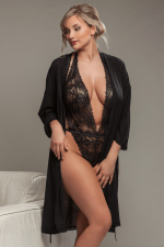 Aura Kimono Black