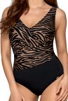 Savanni One-Piece Swimsuit Animal Print-thumb