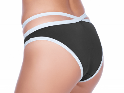 Freya Swim Back to Black Italini Brief Black and White  XS-XL AS3707BLK