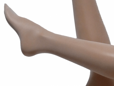 Cette Bali Stockings off-white 20 den Silicone free stocking with lace S-XL 344-12-608