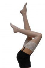 Bali Stockings off-white 20 den