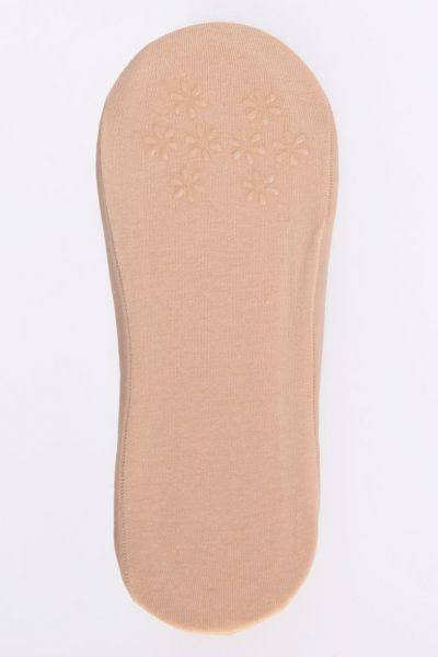 Ballerina Socks with Cotton Beige