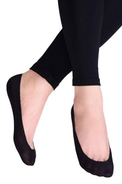 Ballerina Socks with Cotton Black  34-37, 38-41 CDB 400-004