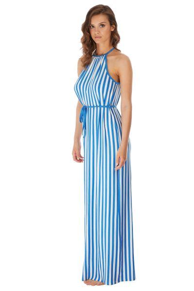 Freya Swim Beach Hut Maxi Dress Blue Moon Maxi dress with a thin belt S-XL AS6799-BMN