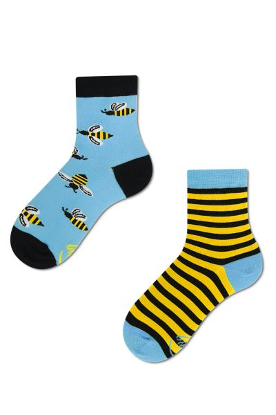 Many Mornings  Bee Bee Kids Socks 1 pair  23-26, 27-30, 31-34 K1