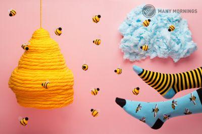 Bee Bee Regular Socks 1 pair