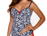 Bluebell Tankini Blue and White-thumb