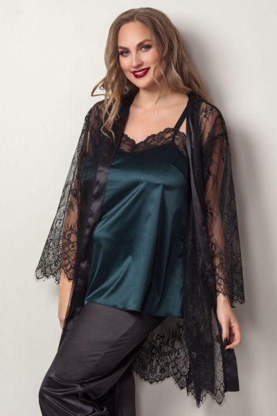 Plaisir Boudoir Camisole Emerald  42/44 - 54/56 2045