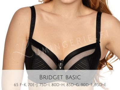 Bridget Soft Bra Black