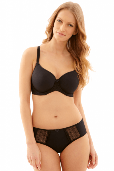 Panache Cari Briefs Black  34-46 7963