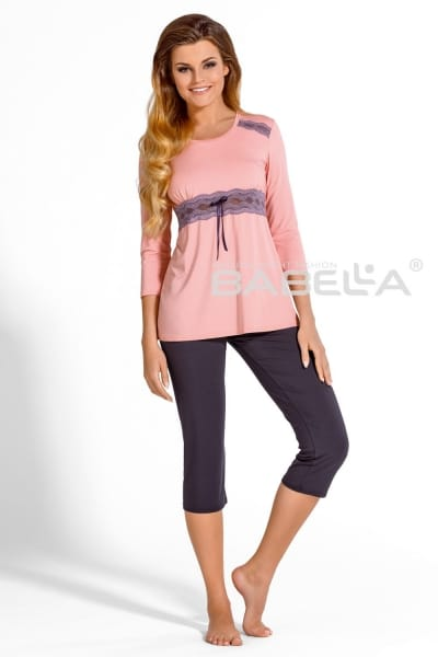 Carmella Pyjama Set Peony Plum