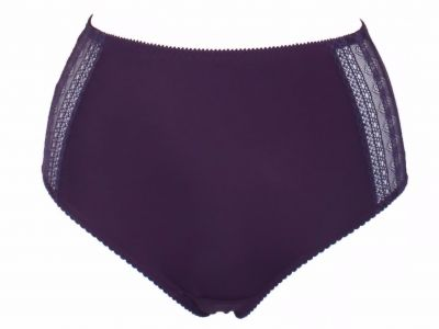 Claire Maxi Briefs Blackberry
