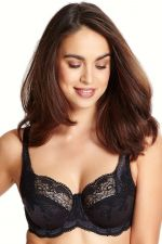 Clara Full Cup Bra Charcoal Black