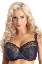Clarisse Side Support Bra Paisley Leaf