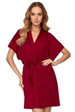 Corina Dressing Gown Bordeaux