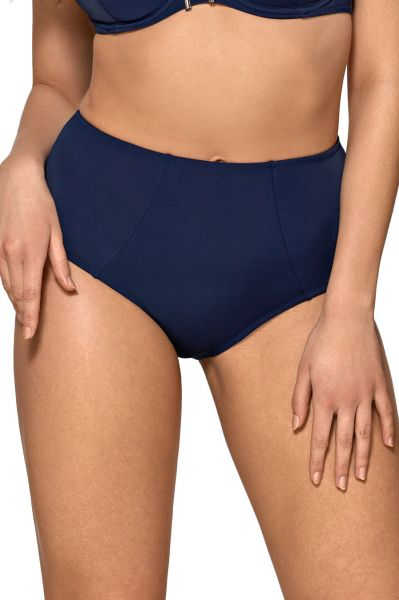 Ava Swimwear Dalia Bikini Briefs Navy  M-3XL SF 13/4-NAY