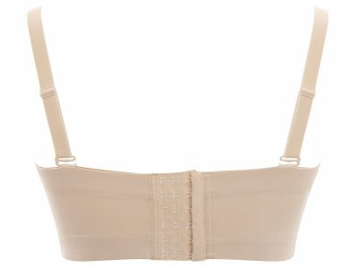 Sculptresse by Panache Dana Strapless Bra Linen Underwired, slightly padded strapless bra 75-105, D-J 9670-LIN