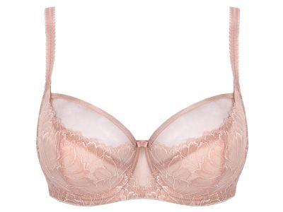 Subtille Demeter Soft Bra Pink Blush Underwired non-padded mesh bra 65-90, D-M DEM-SOFT-ROZ