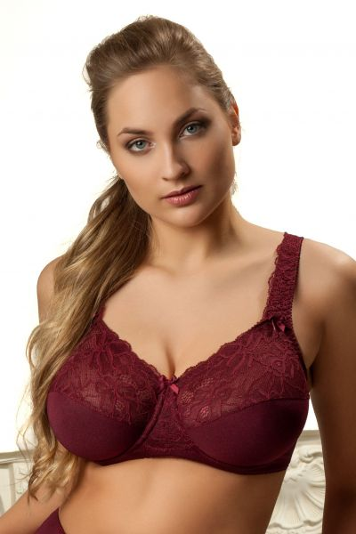 Denise Full Cup Bra Burgundy