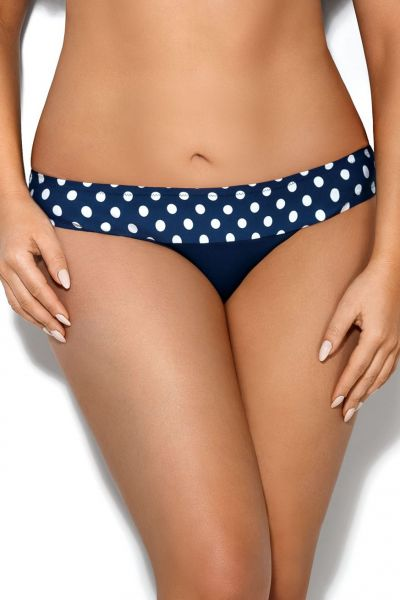 Dots Mini Bikini Briefs Blue Polka Dot