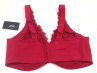 Lace Full Cup Bra Red-thumb