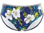 Elle Classic Bikini Pant Cobalt Floral