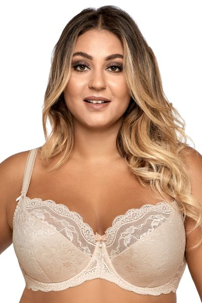 Ellice Semi Soft Bra Beige