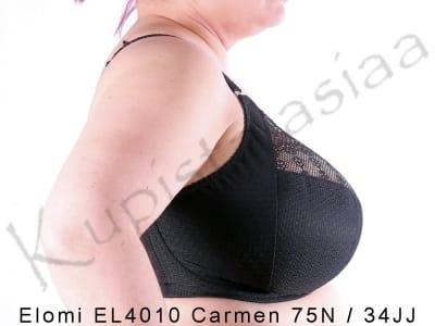 Carmen Plunge Bra Black