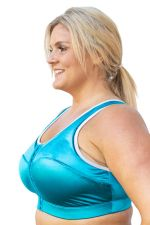 Enell Sports Bra Blue Lagoon