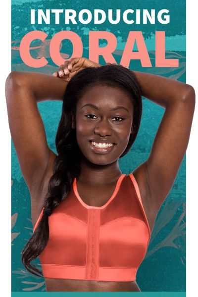 Enell Sports Bra Coral